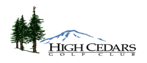 High Cedars Players Club Cards